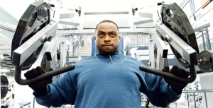 University of Illinois graduate student Marc Cook and his colleagues found that young African-American men experienced more cardiovascular benefits from weight training than Caucasian men of the same age. Photo by L. Brain Stauffer.