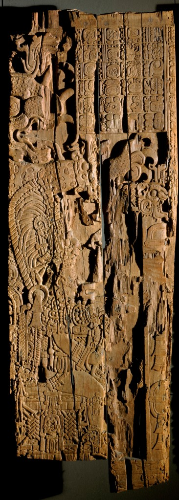 The carving that was analyzed.
